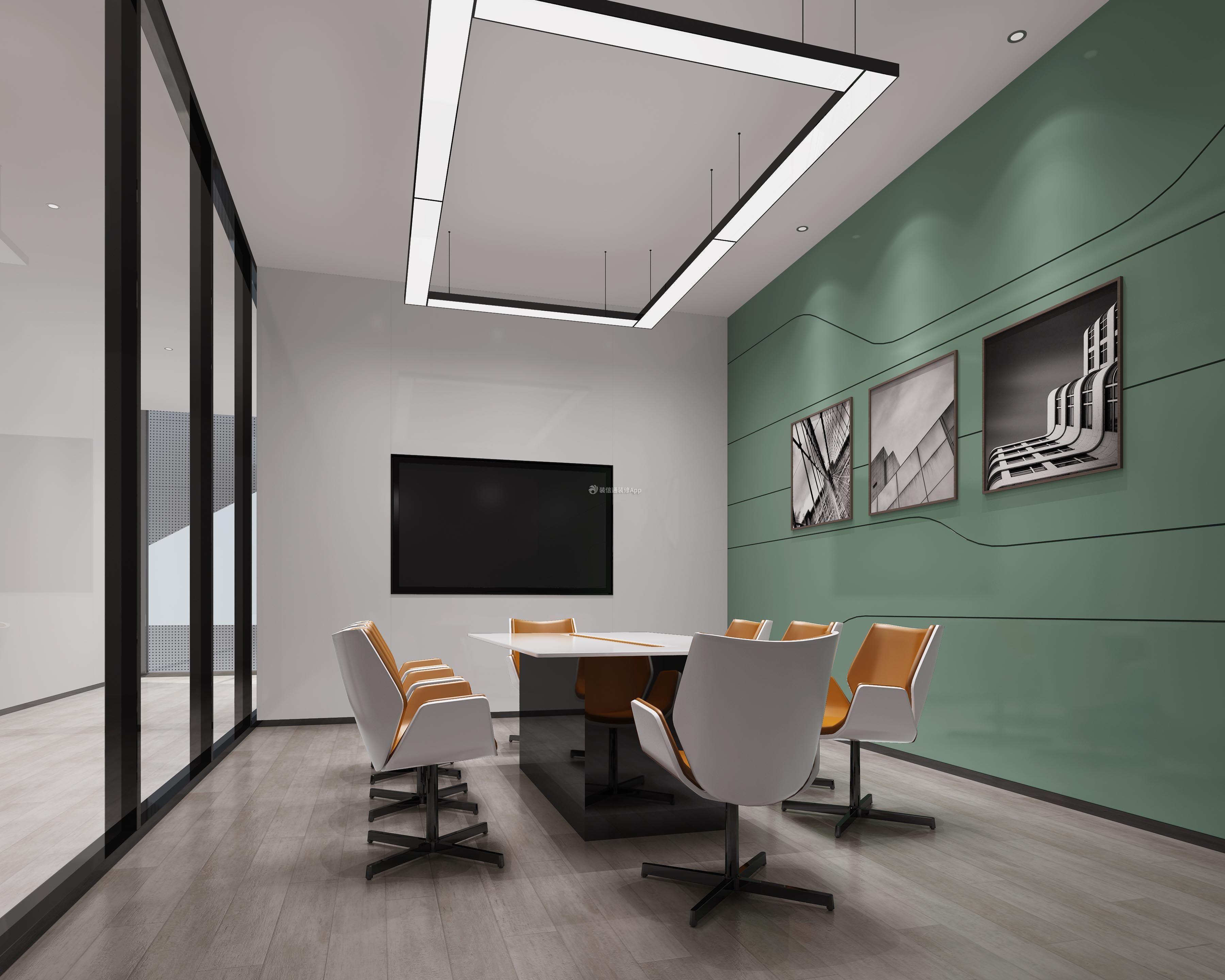 贝斯特现代简约风格办公室装修设计效果图