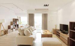 通瑞嘉苑90㎡現代簡約三居室客廳裝修效果圖