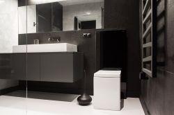110平方三居室沉穩風格背景墻裝修設計效果圖