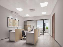 現代風格1200平廠房辦公室裝修