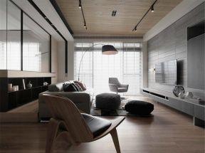 現代風格客廳窗簾效果圖 現代風格客廳背景墻