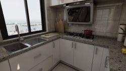 110平米三居室現代簡約風格廚房裝修效果圖
