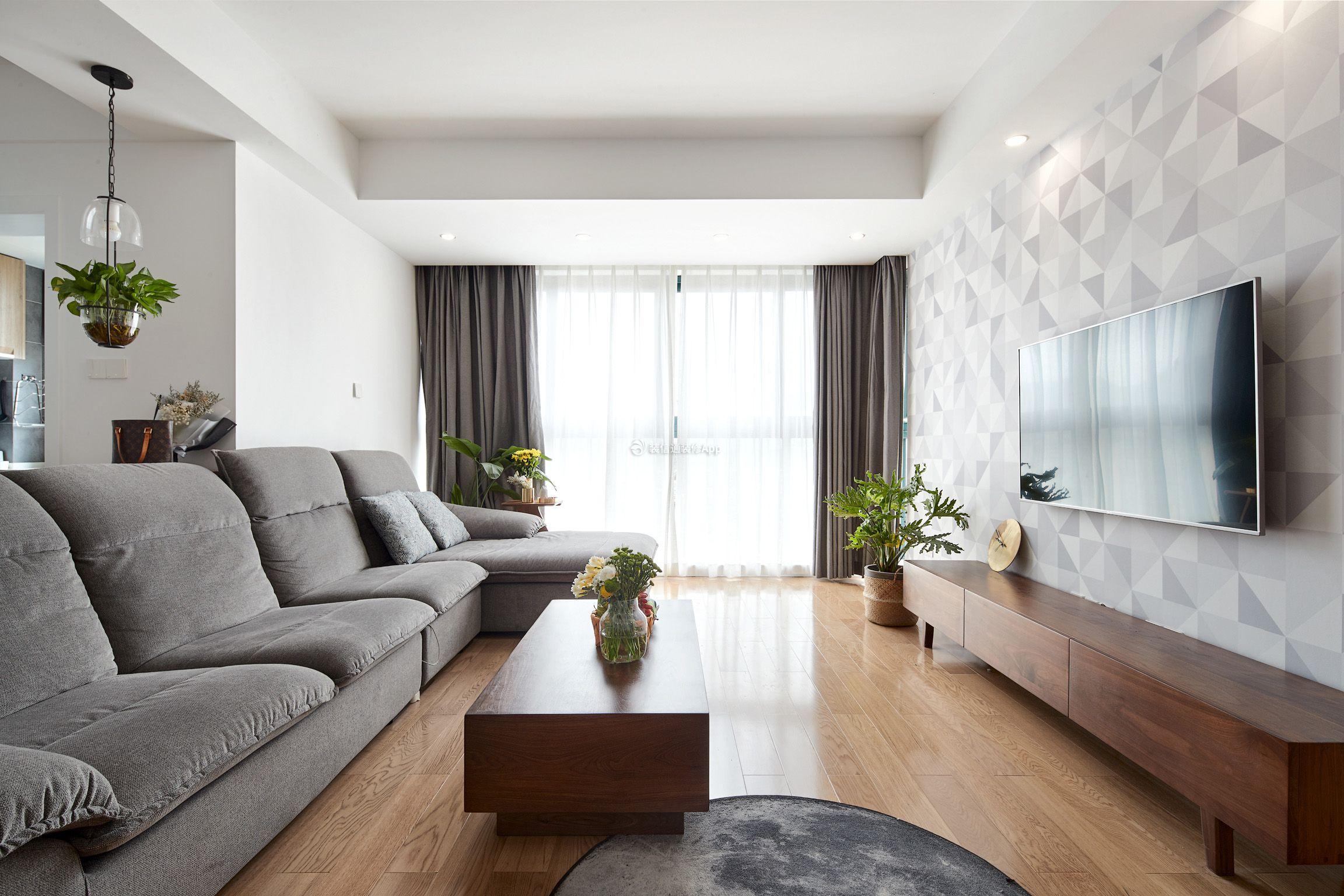 杭州紫韵公寓北欧风格133平米装修效果图案例