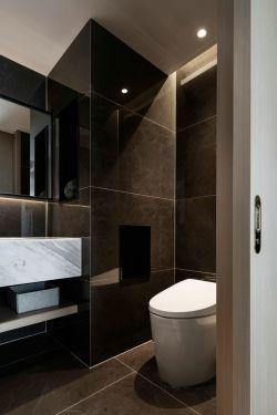 90平米三居室現代衛生間裝修設計效果圖