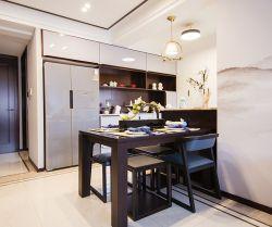 四居140平新中式風格餐廳裝修設計圖