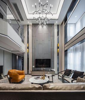 別墅客廳設計 別墅客廳沙發效果圖片