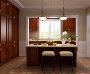 美式廚房裝修效果圖風格 美式廚房裝修效果圖大全2019圖片