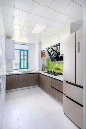 现代简约厨房装修图 现代简约厨房装修效果图片  现代简约厨房装修