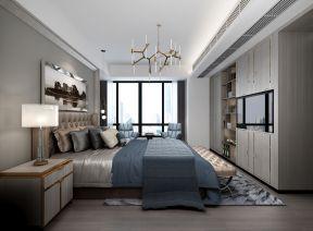 現代風格臥室效果 現代風格臥室裝修圖