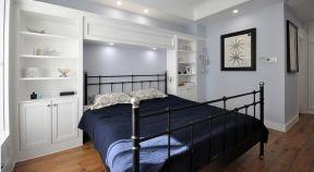 现代美式卧室 现代美式卧室效果图