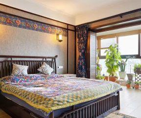 東南亞風格臥室 東南亞風格裝修案例圖片