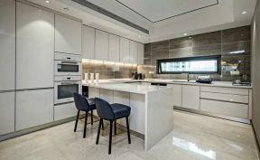 別墅廚房餐廳裝修效果圖 別墅廚房設計