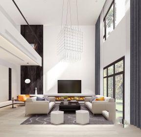 现代简约风格客厅装修效果图大全 现代简约风格客厅吊顶装修效果图
