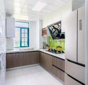 110平米三室一厅现代简约风格厨房装修案例-每日推荐