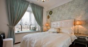 美式风格卧室窗帘 美式窗帘风格