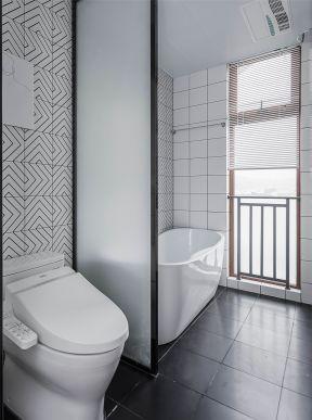 现代简约卫生间装修效果图 现代简约卫生间装修效果图大全