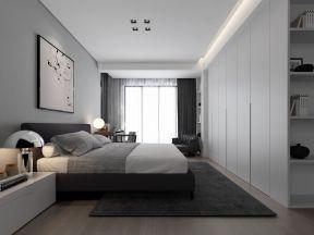 現代風格臥室裝修案例 臥室書桌裝修效果圖