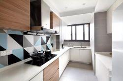 現代簡約風格125平三居室廚房裝修