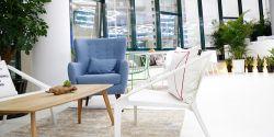 現代風格1200平辦公室沙發裝修