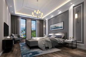 现代简约风格卧室效果图 现代简约风格卧室床