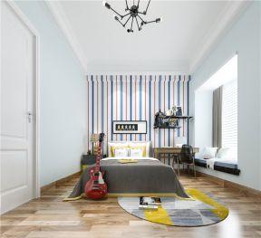 美式臥室實景圖 美式臥室設計效果圖