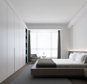 三室一廳一廚一衛臥室整體衣柜裝潢效果圖-每日推薦