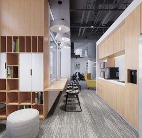 廊坊370平米办公室装修设计图片-装信通网效果图大全