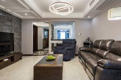 復式140平現代風格客廳裝修設計圖