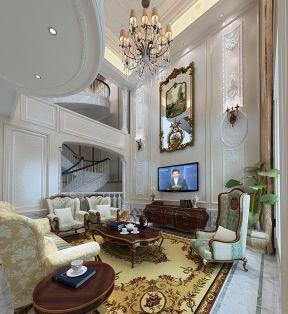 法式風格客廳效果圖 法式風格客廳設計