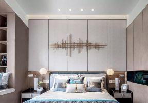 臥室床頭背景墻設計圖 臥室床頭背景墻