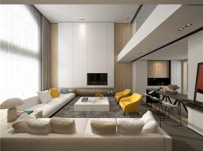 现代简约客厅装饰图片 现代简约客厅效果