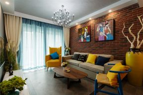 東南亞客廳裝修效果圖 東南亞客廳效果圖片