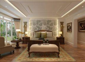 歐式別墅臥室裝修 歐式臥室效果圖