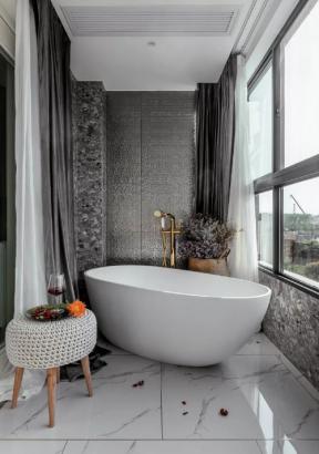 衛生間浴缸效果圖 衛生間浴缸設計