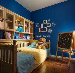 128平米東南亞風格兒童房壁柜設計效果圖片-每日推薦
