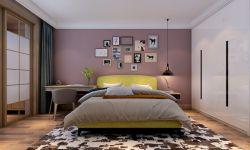 北歐風格170平四居室臥室裝修效果圖