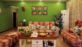 田園風格客廳窗簾圖片 田園風格客廳家具