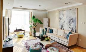 客廳裝飾畫圖片大全 客廳裝飾畫沙發背景墻