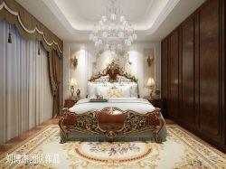 古典風格200平四居室臥室裝修效果圖