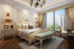 歐式風格170平四居室臥室裝修效果圖