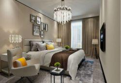 二居94平輕奢風格臥室裝修設計圖