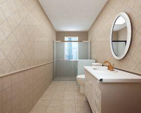 衛生間瓷磚裝修效果圖 衛生間鏡子效果圖