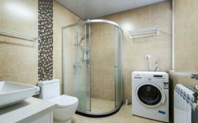現代簡約風格衛浴裝修效果圖 現代簡約風格裝修設計