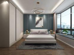 現代簡約風格120平三居室臥室裝修效果圖