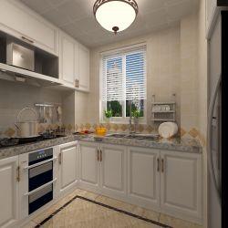 126平米三居室歐式廚房裝修設計效果圖