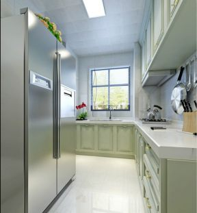 美式风格厨房装修图片 美式风格厨房装修图