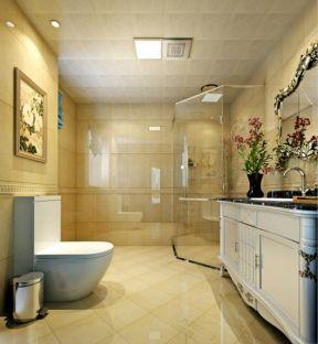美式风格卫生间效果图 美式风格卫生间装修效果图大全