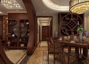 中式餐廳裝潢 中式餐廳裝潢設計圖片