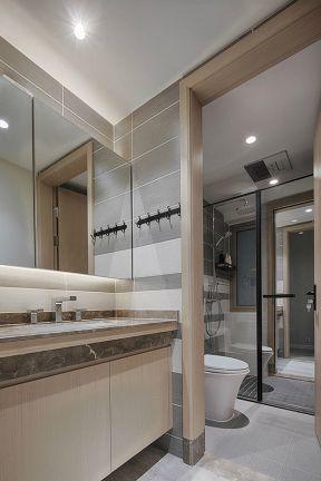 现代简约风格卫浴装修效果图 现代简约风格装修图