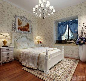 美式臥室裝潢效果圖 美式臥室效果圖